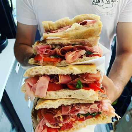 Nos sandwiches Focaccia